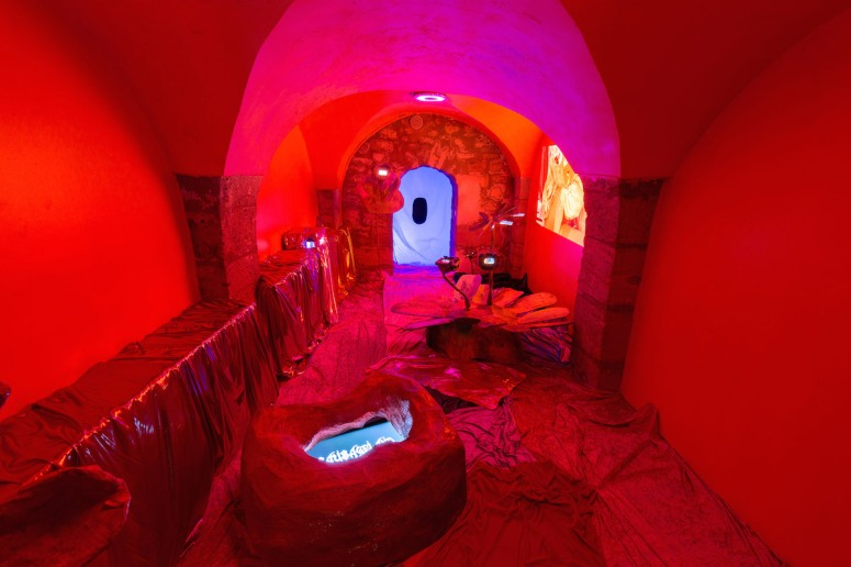 Cellar Door, a project in partnership with Generator / 40mcube Avec les artistes Aude Anquetil, Hilary Galbreaith, Brieg Huon & Nicolas Pesquier